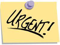 Urgent-notice