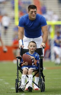 Tebow cares